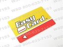 EASY CARDS .030' Red and Yello