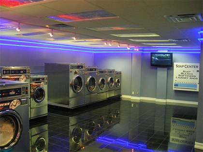 Southern California laundry parts warehouse showroom