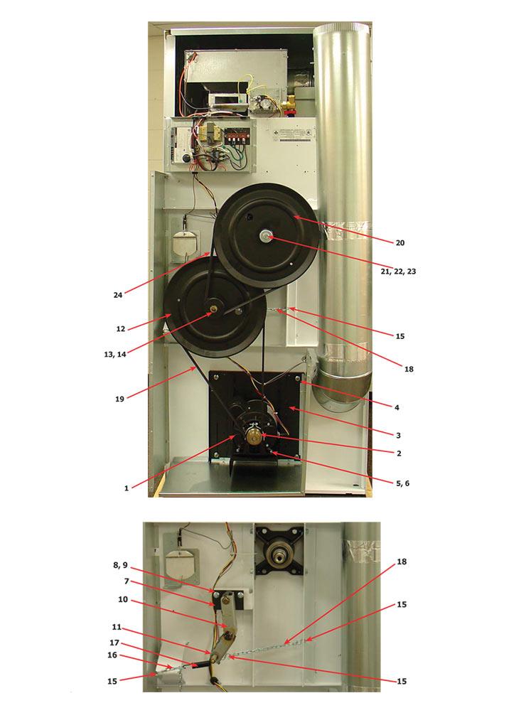 [ZTBE_9966]  Dexter T30 Express Dryer - Rear View | Dexter Dryer Wiring Diagram |  | Western State Design