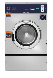 Dexter T-600 Coin Operated Washing Machine - 40 lb Weight Capacity