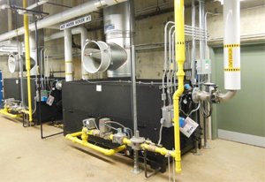Parker Industrial Boiler for Laundry Systems | WSD